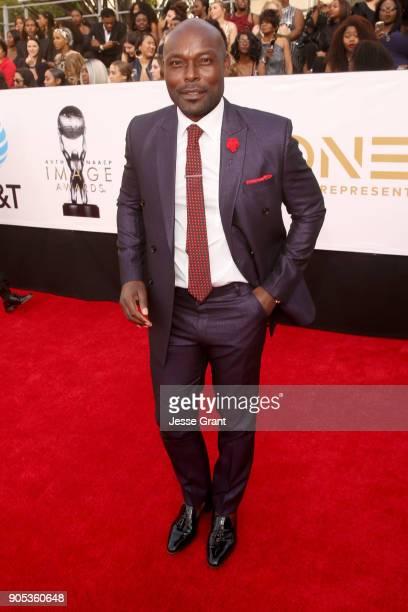 Jimmy Jean-Louis attends the 49th NAACP Image Awards at Pasadena Civic Auditorium on January 15, 2018 in Pasadena, California.