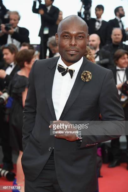 Jimmy JeanLouis attends the 'Saint Laurent' Premiere at the 67th Annual Cannes Film Festival on May 17 2014 in Cannes France