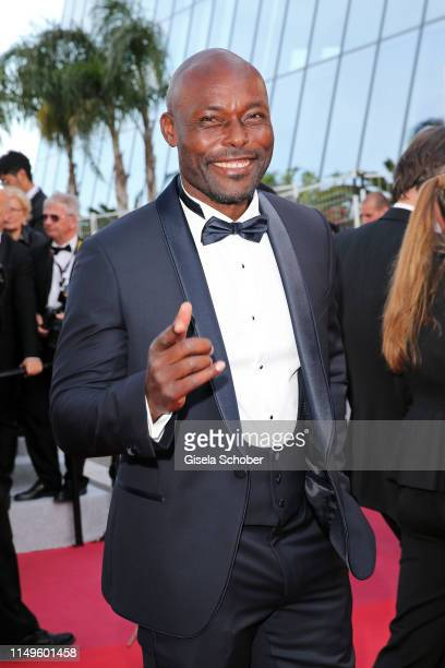 """Jimmy Jean-Louis attends the screening of """"Rocketman"""" during the 72nd annual Cannes Film Festival on May 16, 2019 in Cannes, France."""