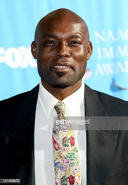 Jimmy JeanLouis during 38th Annual NAACP Image Awards Arrivals at Shrine Auditorium in Los Angeles California United States