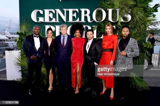 Jimmy JeanLouis guest CoPresident and CoFounder of Sony Pictures Classics Tom Bernard Moana Luu Dr David Luu Alina Baikova and Yassine Azzouz attend...