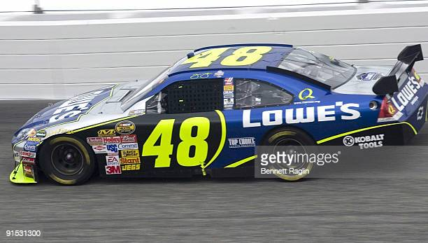 Jimmy Johnson during the NASCAR NEXTEL Cup Series, Dodge Avenger 500, May 13 Darlington Raceway, Darliington, South Carolina