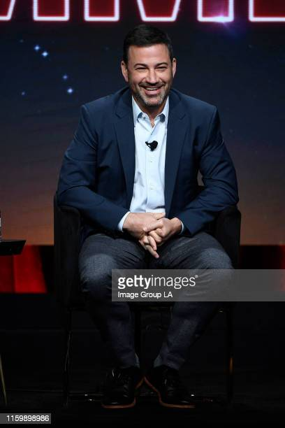TCA 2019 Jimmy Kimmel addressed the press at the ABC Summer TCA 2019 at The Beverly Hilton in Beverly Hills California JIMMY