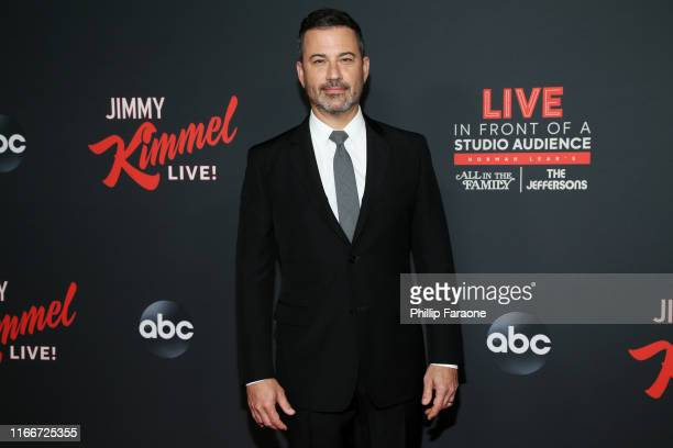 Jimmy Kimmel attends an evening with Jimmy Kimmel at Hollywood Roosevelt Hotel on August 07, 2019 in Hollywood, California.