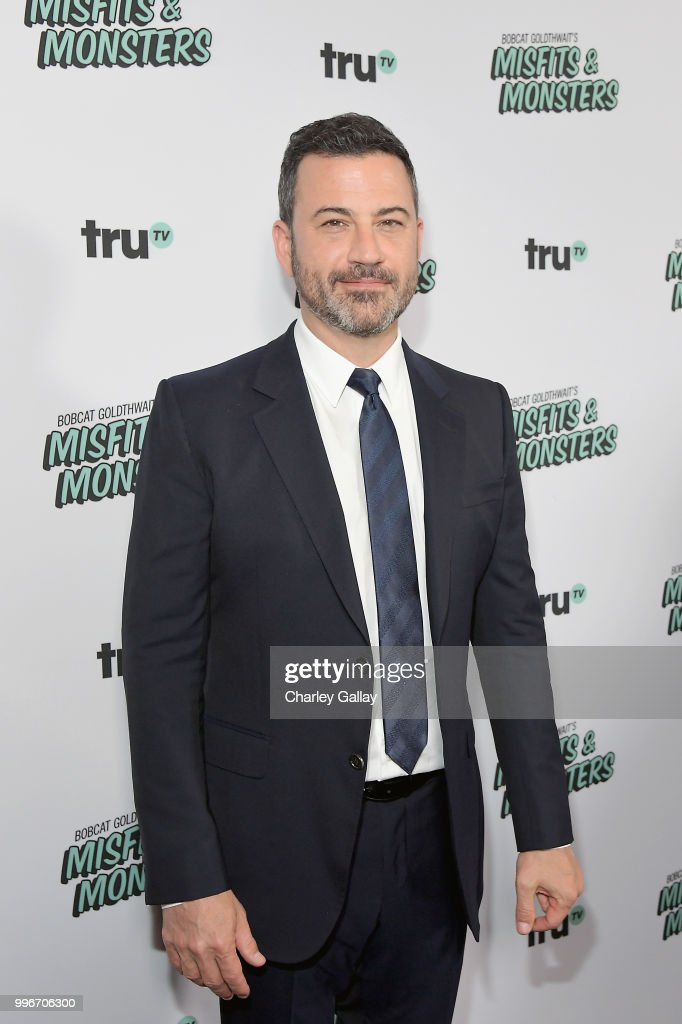 Jimmy Kimmel attends Bobcat Goldthwait's Misfits & Monsters Premiere Event at The Hollywood Roosevelt Hotel on July 11, 2018 in Hollywood, California. 392403.