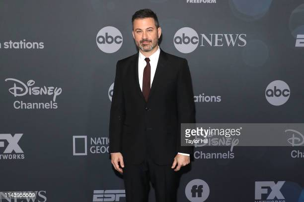 Jimmy Kimmel attends the 2019 ABC Walt Disney Television Upfront at Tavern on the Green on May 14 2019 in New York City