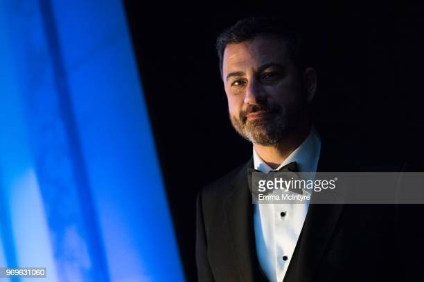 Jimmy Kimmel attends the American Film Institute's 46th Life Achievement Award Gala Tribute to George Clooney at Dolby Theatre on June 7 2018 in...