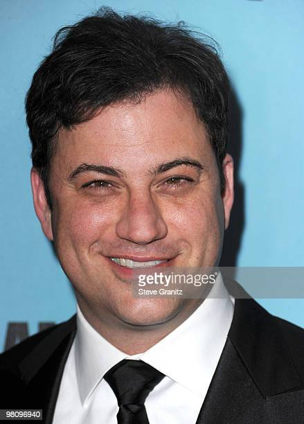 Jimmy Kimmel attends the at American Cinematheque 24th Annual Award Presentation To Matt Damon at The Beverly Hilton hotel on March 27 2010 in...