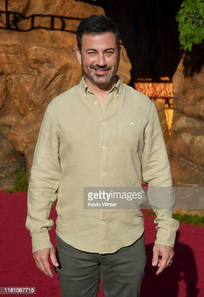 Jimmy Kimmel attends the premiere of Disney's The Lion King at Dolby Theatre on July 09 2019 in Hollywood California