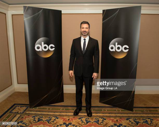 TOUR 2018 Jimmy Kimmel host and executive producer 'Jimmy Kimmel Live' and host '90th Oscars®' at the Disney | ABC Television Group's Winter Press...
