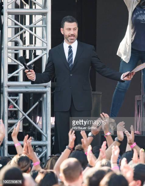 Jimmy Kimmel is seen at 'Jimmy Kimmel Live' on July 19 2018 in Los Angeles California
