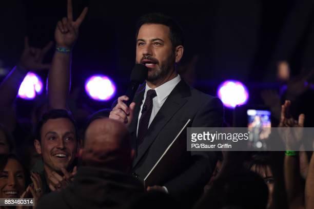 Jimmy Kimmel is seen on November 30 2017 in Los Angeles California