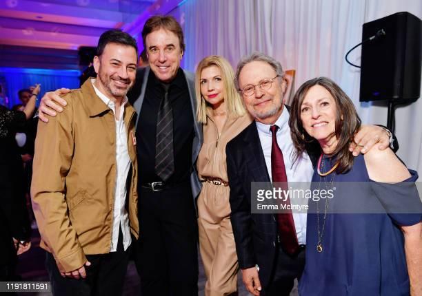 Jimmy Kimmel, Kevin Nealon, Susan Yeagley, Billy Crystal and Janice Crystal attend Tiffany Haddish: Black Mitzvah at SLS Hotel on December 03, 2019...