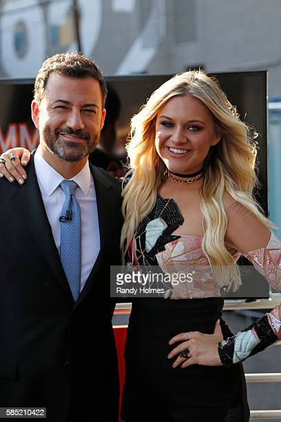 LIVE Jimmy Kimmel Live airs every weeknight at 1135 pm EDT and features a diverse lineup of guests that includes celebrities athletes musical acts...