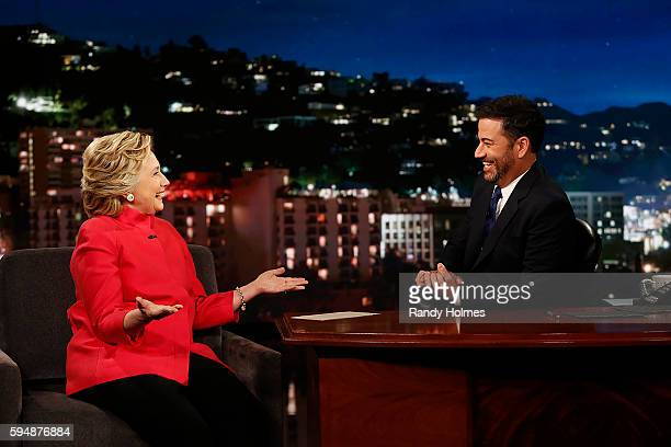 """Jimmy Kimmel Live"""" airs every weeknight at 11:35 p.m. EDT and features a diverse lineup of guests that includes celebrities, athletes, musical acts,..."""