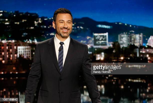"""Jimmy Kimmel Live!"""" airs every weeknight at 11:35 p.m. EST and features a diverse lineup of guests that include celebrities, athletes, musical acts,..."""