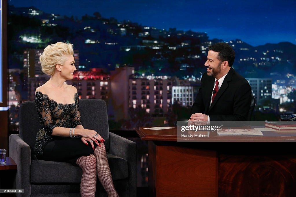 "ABC's ""Jimmy Kimmel Live"" - Season 13 : News Photo"