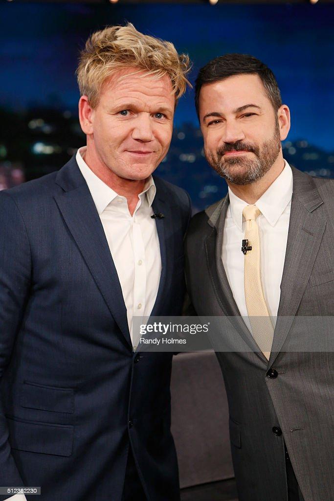 ABC's 'Jimmy Kimmel Live' - Season 14 : News Photo