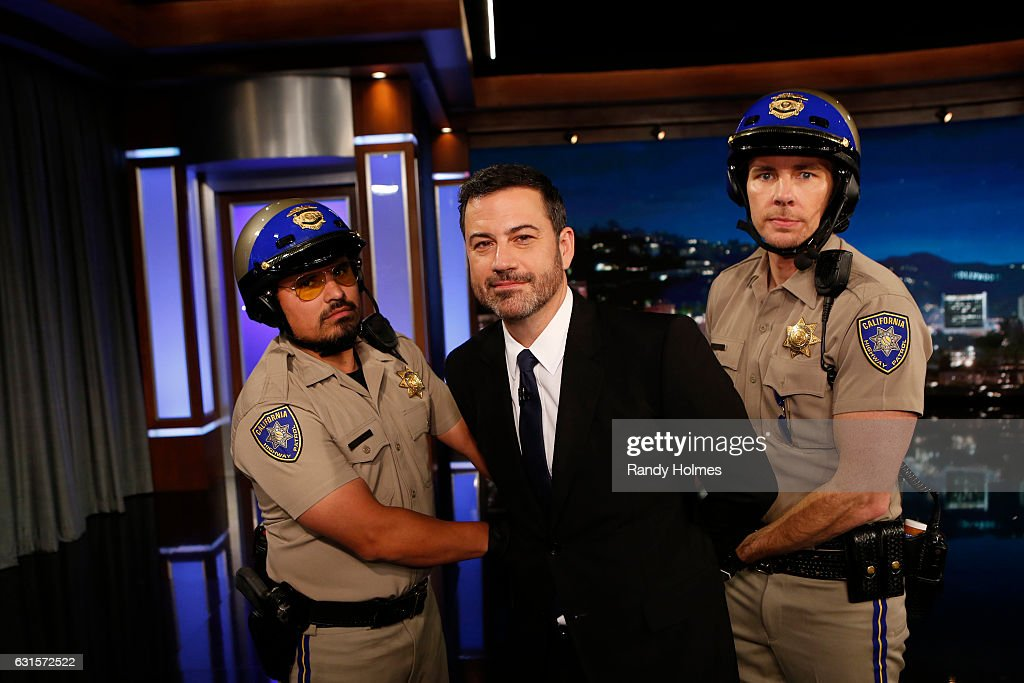 LIVE - 'Jimmy Kimmel Live' airs every weeknight at 11:35 p.m. EST and features a diverse lineup of guests that includes celebrities, athletes, musical acts, comedians and human-interest subjects, along with comedy bits and a house band. The guests for Wednesday, January 11 included Jessica Biel ('The Book of Love'), Mahershala Ali ('Moonlight') and musical guest SOHN. MICHAEL