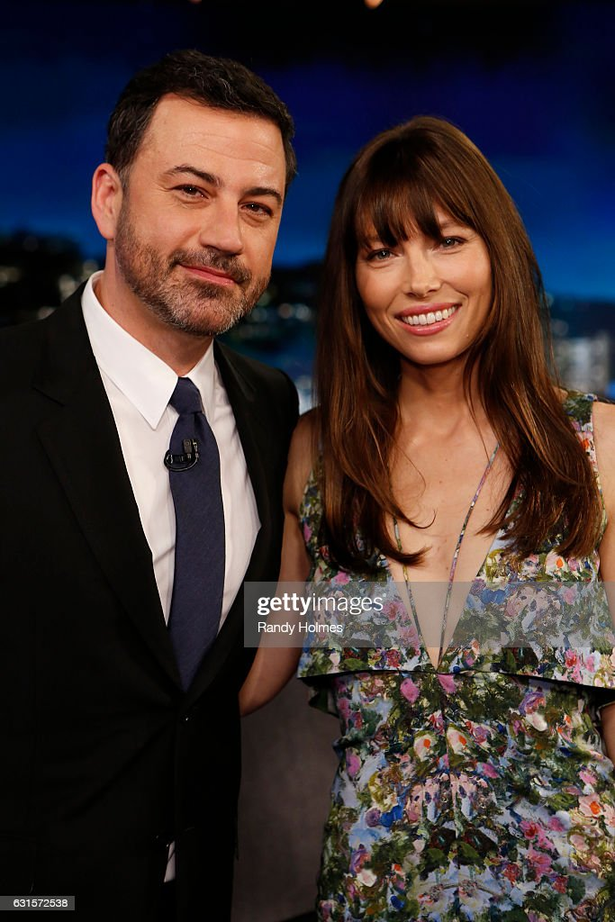 LIVE - 'Jimmy Kimmel Live' airs every weeknight at 11:35 p.m. EST and features a diverse lineup of guests that includes celebrities, athletes, musical acts, comedians and human-interest subjects, along with comedy bits and a house band. The guests for Wednesday, January 11 included Jessica Biel ('The Book of Love'), Mahershala Ali ('Moonlight') and musical guest SOHN. JIMMY
