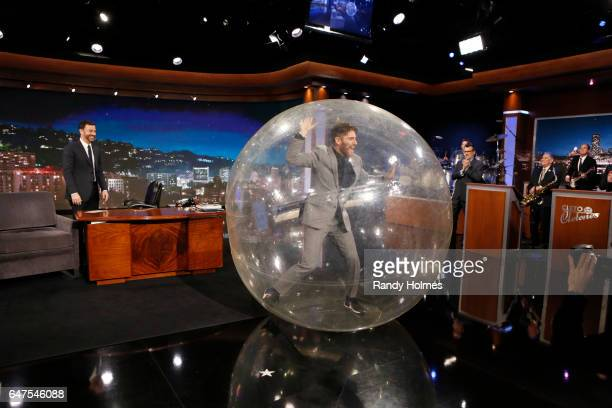 """Jimmy Kimmel Live"""" airs every weeknight at 11:35 p.m. EST and features a diverse lineup of guests that includes celebrities, athletes, musical acts,..."""