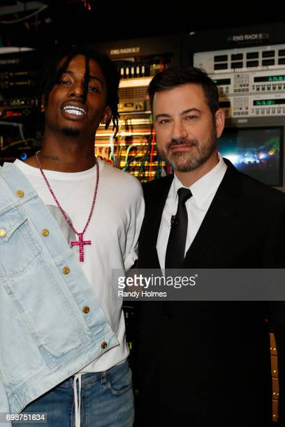 "Jimmy Kimmel Live"" airs every weeknight at 11:35 p.m. EST and features a diverse lineup of guests that include celebrities, athletes, musical acts,..."