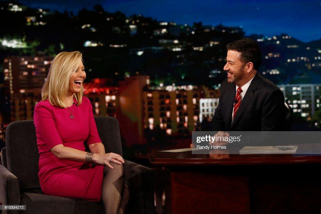 ABC's 'Jimmy Kimmel Live' - Season 15 : News Photo