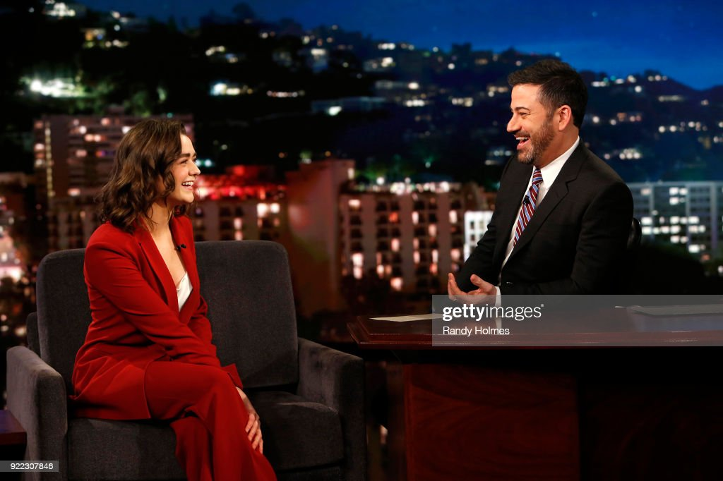 ABC's 'Jimmy Kimmel Live' - Season 15 : News Photo