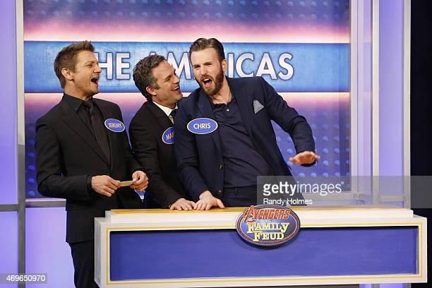 LIVE Jimmy Kimmel Live welcomed Robert Downey Jr Chris Hemsworth Mark Ruffalo Chris Evans Scarlett Johansson and Jeremy Renner from the cast of...