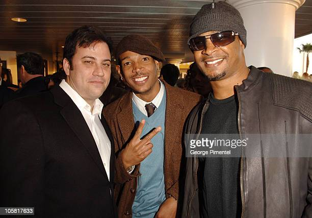 Jimmy Kimmel Marlon Wayans and Damon Wayans during Film Independent's 2006 Independent Spirit Awards IFC After Party at Shutters in Santa Monica...