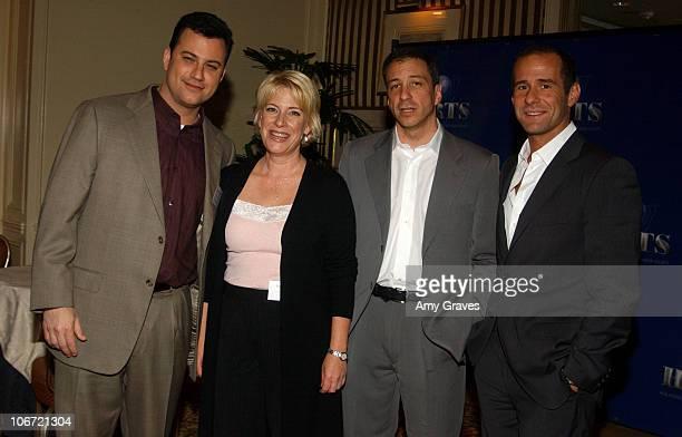 Jimmy Kimmel moderator Barbara Hall 'Joan of Arcadia' David Kohan and Max Mutchnick 'Will and Grace'