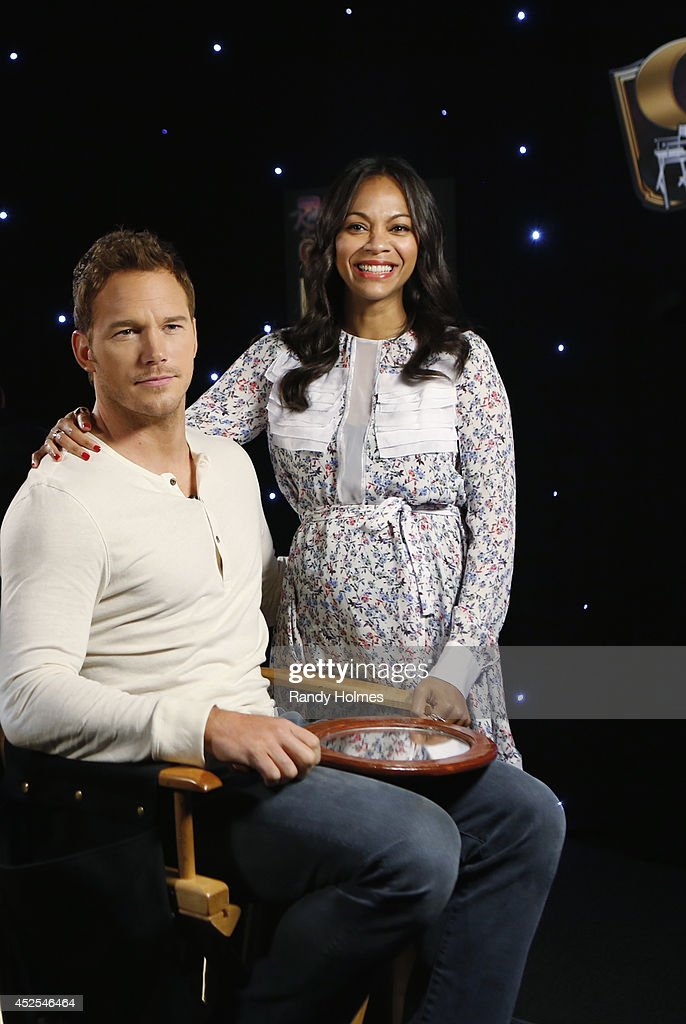LIVE - Jimmy Kimmel welcomes Chris Pratt, Zoe Saldana, Dave Bautista, Vin Diesel and Bradley Cooper to a special 'Guardians of the Galaxy' episode of 'Jimmy Kimmel Live' on MONDAY, JULY 21, the same evening as the film's worldwide premiere. The stars of the highly anticipated new film talk about the project and debut exclusive content. Kimmel also tests the Guardians' Marvel knowledge as each actor goes head-to-head in a trivia contest against Mia Grace, a 5-year-old superhero expert from Albany, New York.
