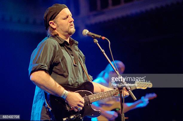 Jimmy Lafave, guitar and vocals, performs at the Paradiso on October 4th 2001 in Amsterdam, Netherlands.
