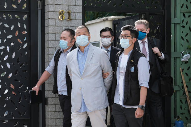 CHN: Hong Kong Media Tycoon Jimmy Lai Arrested in Latest Blow to Democracy Camp