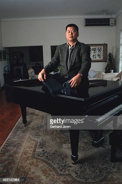 Jimmy Lai on a grand piano at his house in Hong Kong The media tycoon behind Hong Kong's Next Media empire moved to Taiwan to start the Taiwanese...