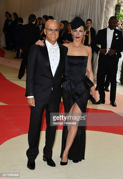 Jimmy Lovine and Liberty Ross attend the 'Manus x Machina Fashion in an Age of Technology' Costume Institute Gala at the Metropolitan Museum of Art...