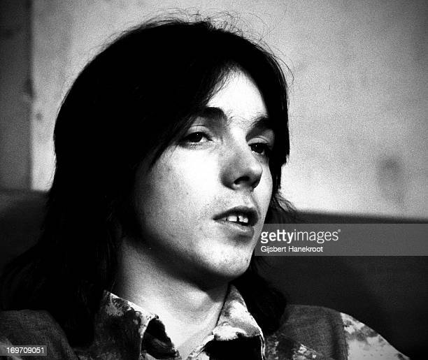 Jimmy McCulloch from Wings posed backstage at Ahoy in Rotterdam Netherlands on March 25th 1976