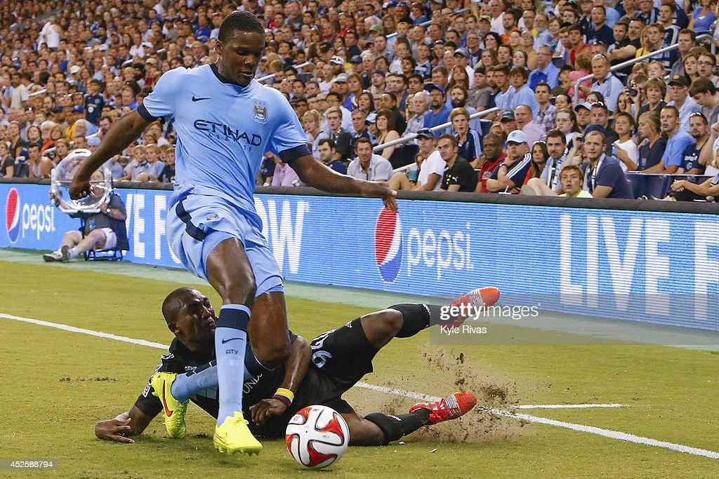 Manchester City v Sporting Kansas City : News Photo