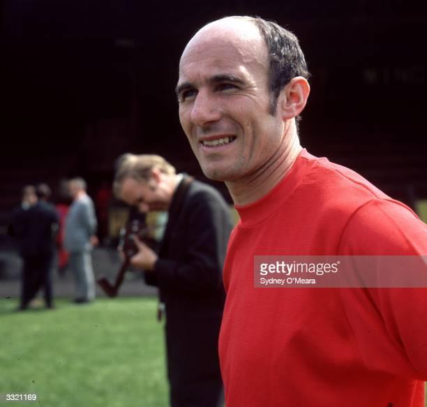Jimmy Melia manager of Aldershot FC