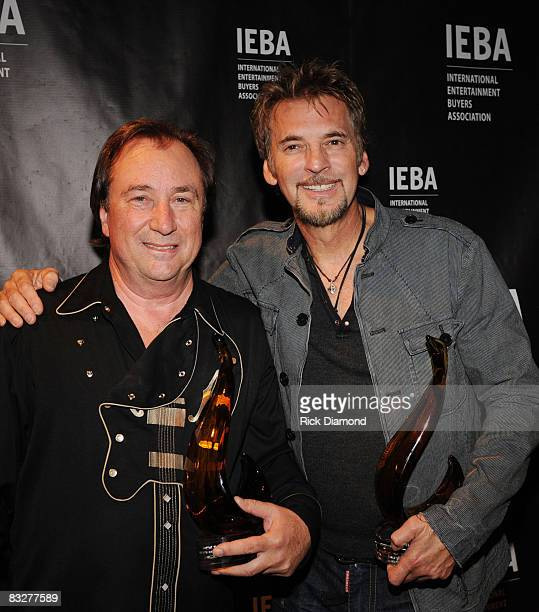 Jimmy Messina and Kenny Loggins Loggins Messina at the 2008 IEBA Honors Dinner at The Hilton Suites on October 14 2008 in Nashville Tennessee