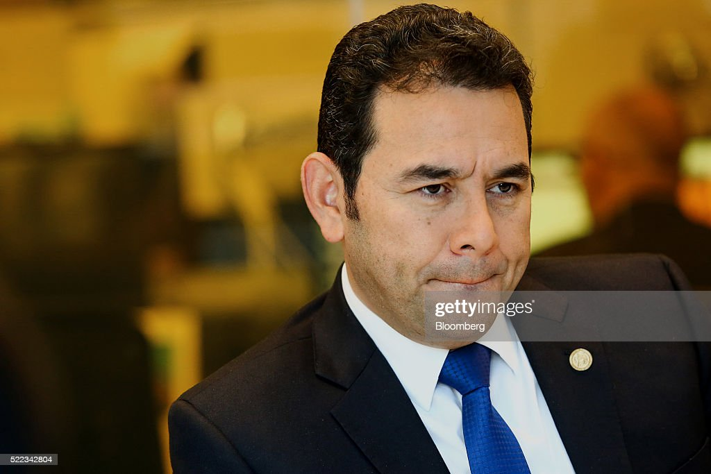 Guatemala President Jimmy Morales Interview