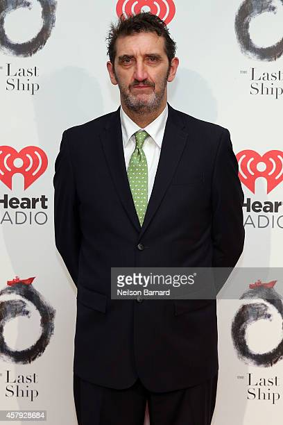 Jimmy Nail attends The Last Ship Broadway opening night after party at Pier 60 on October 26 2014 in New York City