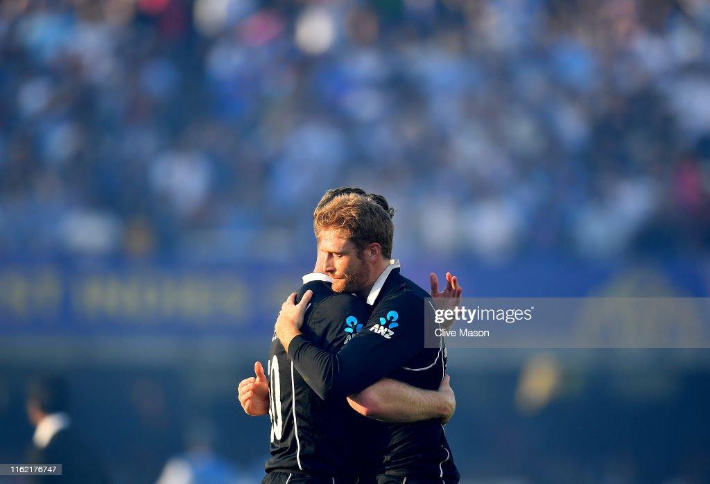 New Zealand v England - ICC Cricket World Cup 2019 Final : News Photo