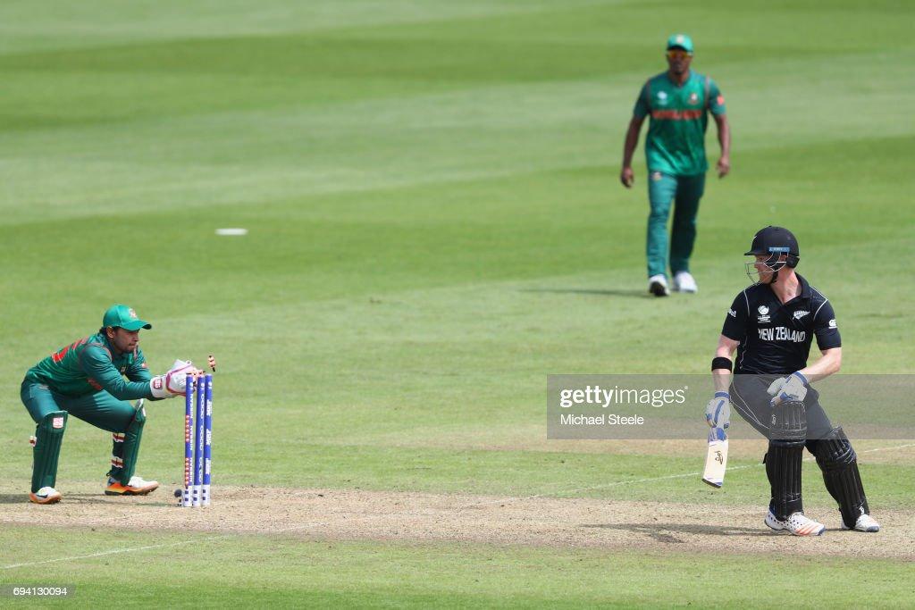 New Zealand v Bangladesh - ICC Champions Trophy : Foto jornalística