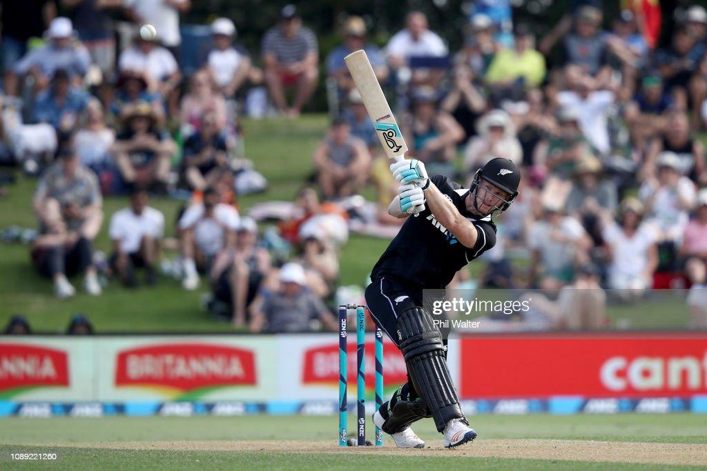 New Zealand v Sri Lanka - ODI Game 1 : News Photo