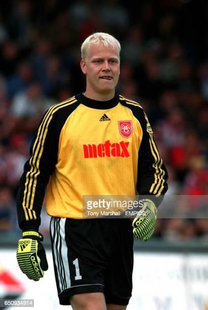 Jimmy Nielsen AaB Aalborg goalkeeper