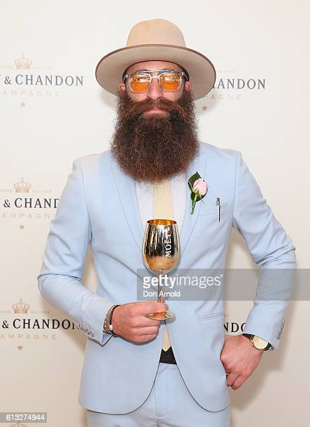 Jimmy Niggles attends Spring Champion Stakes Day at Royal Randwick Racecourse on October 8 2016 in Sydney Australia