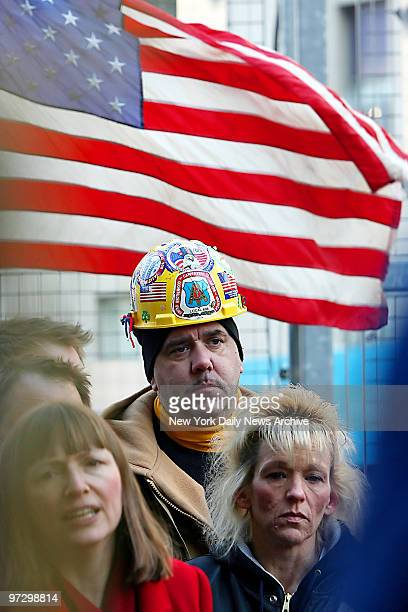 Jimmy Nolan of Yonkers was a responder at Ground Zero who now has serious ailments He joined The Sierra Club and other victims groups who called on...