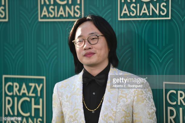 """Jimmy O. Yang attends the premiere of Warner Bros. Pictures' """"Crazy Rich Asiaans"""" at TCL Chinese Theatre IMAX on August 7, 2018 in Hollywood,..."""