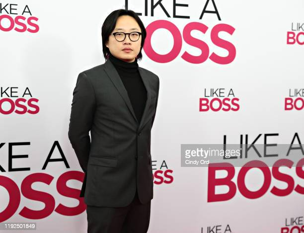 Jimmy O Yang attends the world premiere of Like A Boss at SVA Theater on January 07 2020 in New York City
